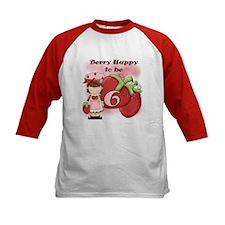 (Brunette) Berry 6th Birthday Tee