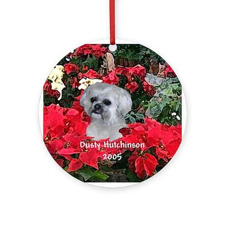 Dusty Hutchinson Ornament (Round)