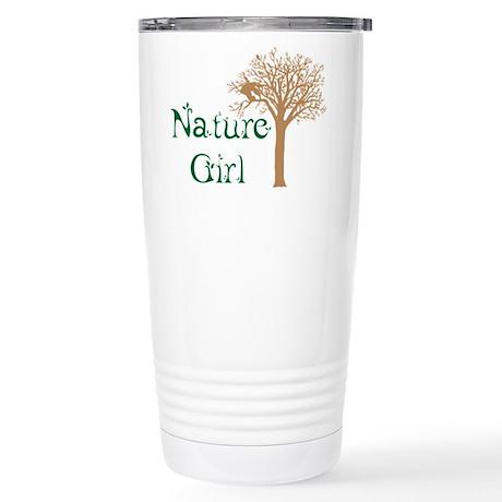 Nature Girl Butterfly Stainless Steel Travel Mug