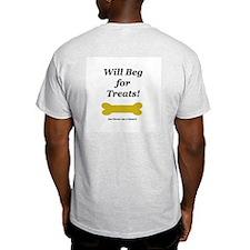 Dog Park Ash Grey T-Shirt