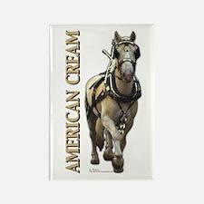 American Cream Rectangle Magnet