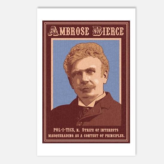 Abrose Bierce -Politics Postcards (Package of 8)