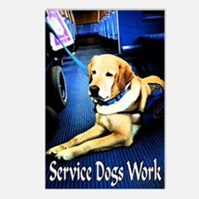 Service Dogs Postcards (Package of 8)