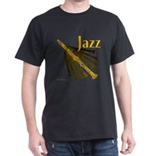 Jazz Clarinet Gold T-Shirt