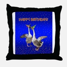 Unique Geese Throw Pillow