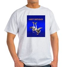 Funny Blue geese T-Shirt