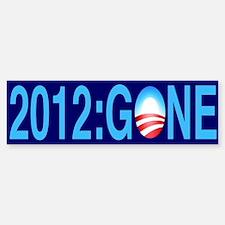 2012: Gone - Bumper Bumper Bumper Sticker