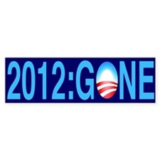 2012: Gone - Bumper Bumper Sticker