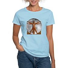 Vitruvian Wolfman T-Shirt