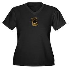 Jackson 5 Women's Plus Size V-Neck Dark T-Shirt