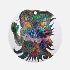 Tigerman Ornament (Round)