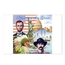 America the Great Postcards (Package of 8)