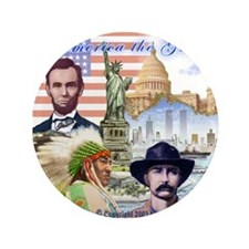 """America the Great 3.5"""" Button (100 pack)"""