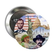 """America the Great 2.25"""" Button"""