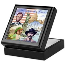 America the Great Keepsake Box