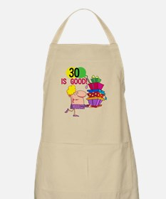 30 is Good BBQ Apron