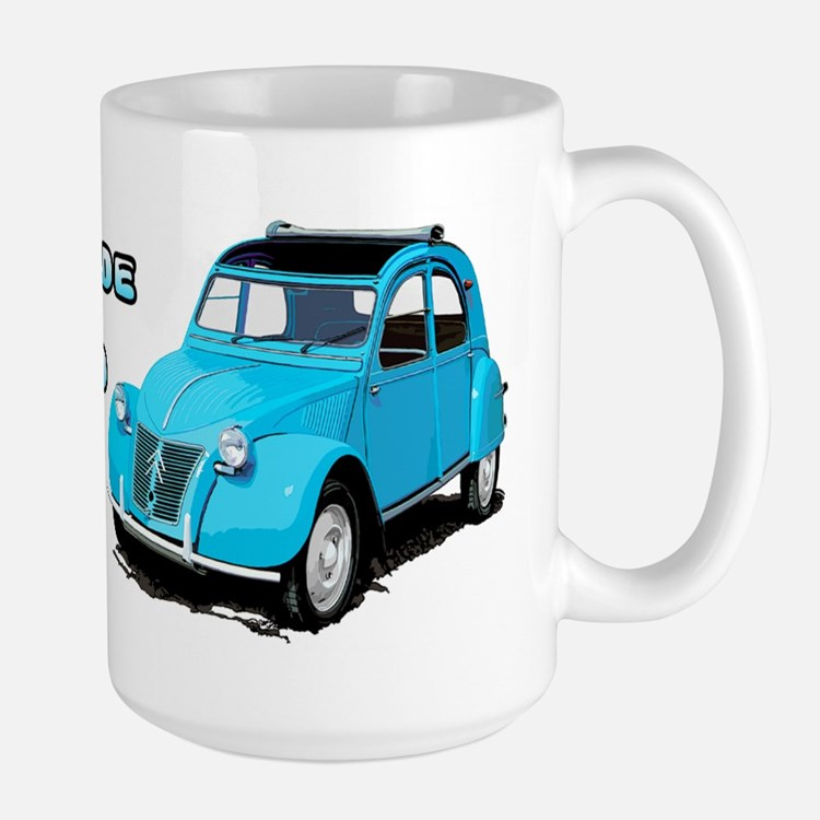 citroen 2cv coffee mugs citroen 2cv travel mugs cafepress. Black Bedroom Furniture Sets. Home Design Ideas