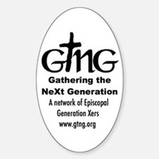 GTNG Oval Decal