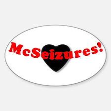 McSeizures2 Oval Decal