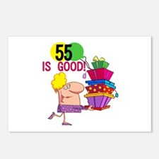55 is Good Postcards (Package of 8)