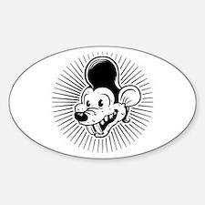 Ricky Rodent Sticker (Oval)