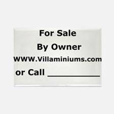 For Sale By Owner Rectangle Magnet
