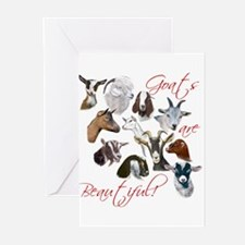 Goats are Beautiful Greeting Cards (Pk of 10)