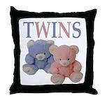 TWINS Throw Pillow