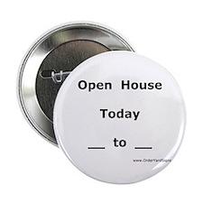 "Open House Real Estate 2.25"" Button"