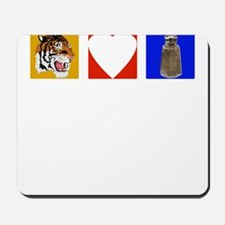 Tigers Love Pepper Mousepad