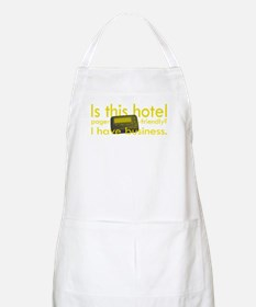 Pager Friendly? BBQ Apron