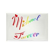Michael Forever Rectangle Magnet (10 pack)