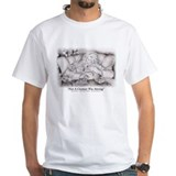 Ferrets Mens White T-shirts