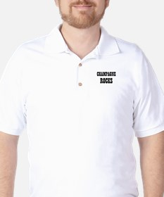 CHAMPAGNE ROCKS Golf Shirt