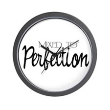 Mixed to Perfection Wall Clock
