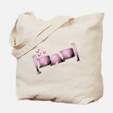 Bad, pretty & pink Tote Bag