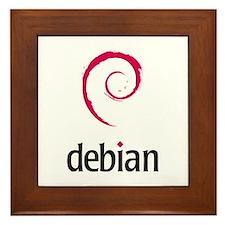 Debian Framed Tile