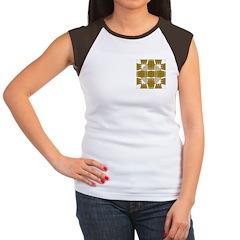 Brown Owls Design Women's Cap Sleeve T-Shirt