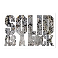 Rock solid Postcards (Package of 8)