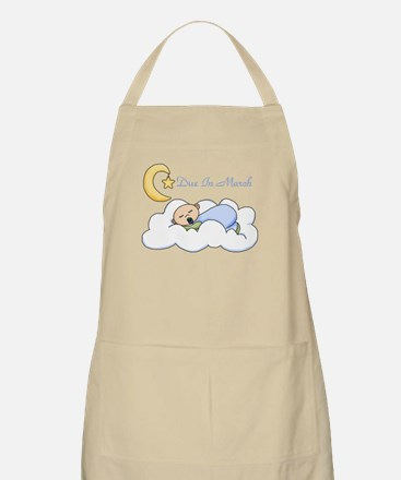 Due In March (Boy) BBQ Apron