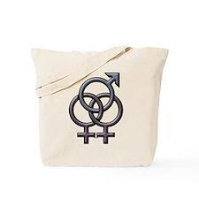 SWINGERS SYMBOL FMF GRAY Tote Bag