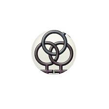 SWINGERS SYMBOL FMF GRAY Mini Button