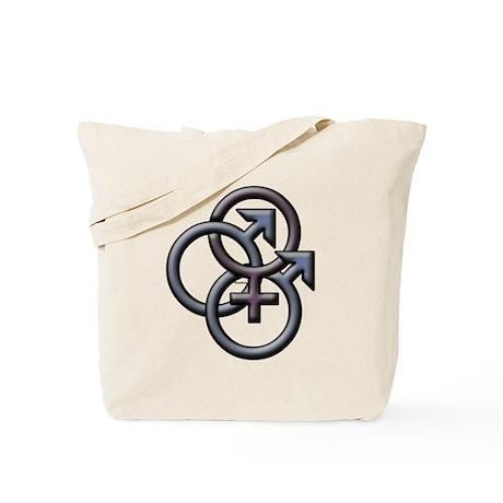 MFM SWINGERS SYMBOL GRAY Tote Bag