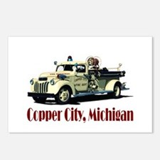 The Copper City, Michigan Postcards (Package of 8)