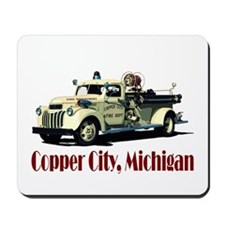 The Copper City, Michigan Mousepad