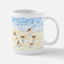 Sandpipers on Old Orchard Bea Mug