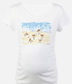 Sandpipers on Old Orchard Bea Shirt