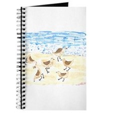 Sandpipers on Old Orchard Bea Journal