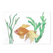 Goldfish Postcards (Package of 8)