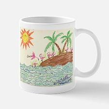 Flamingo Island Mug